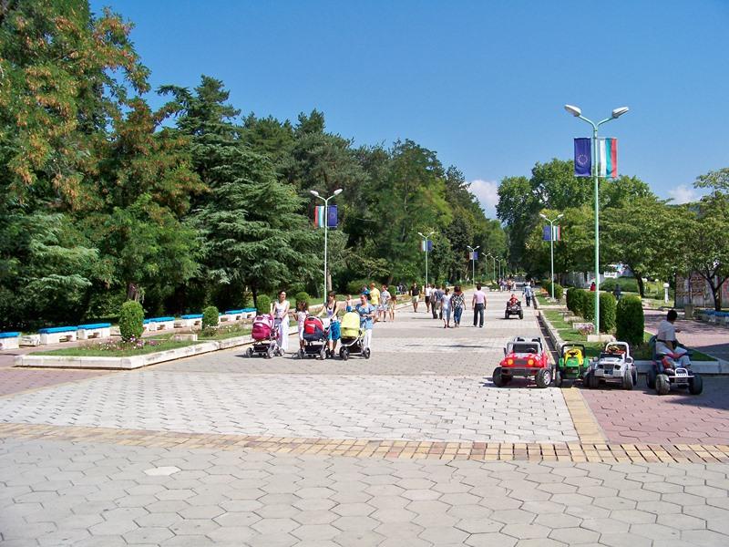 център на град Сандански