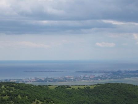 изглед от село Кошарица към морето