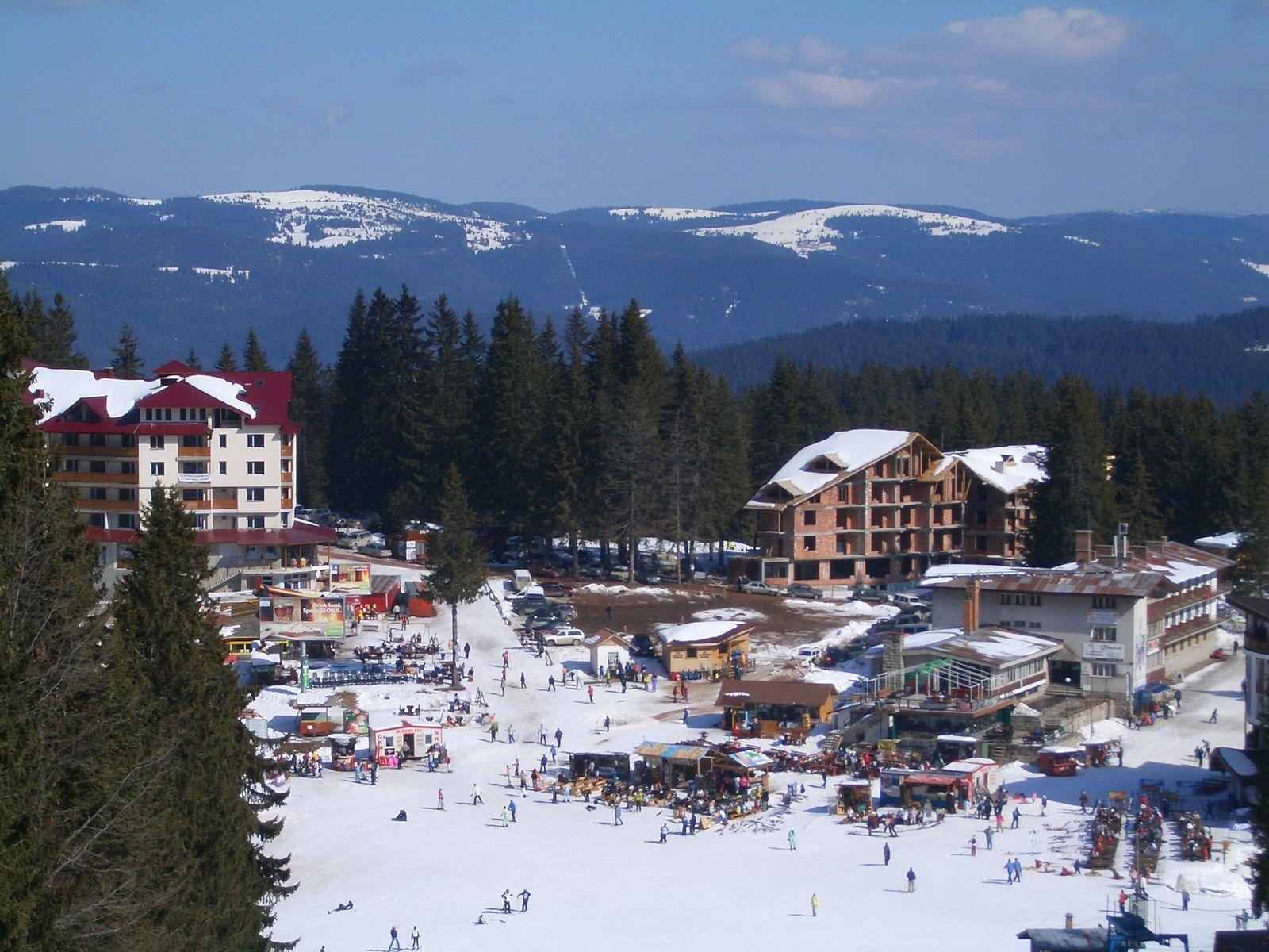 Курорт Пампорово през зимата