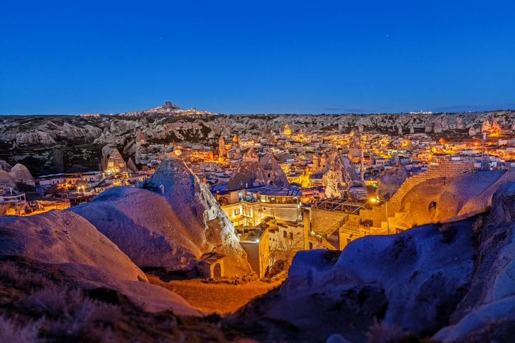 Каменен град в Турция